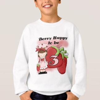 Brown-Beeren-3. Geburtstags-T - Shirts und