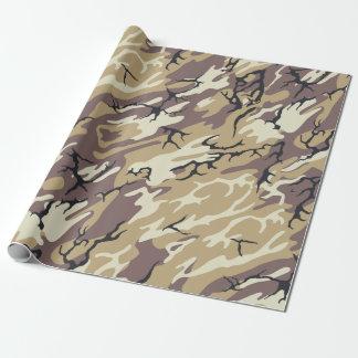 Brown-Camouflage Einpackpapier