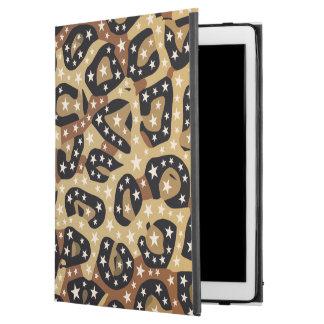 Brown-Gepard-Druck spielt iPad Profall die