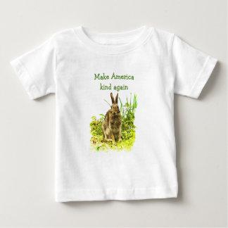 Brown-Häschen machen amerikanische Art wieder Baby T-shirt