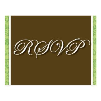 Brown-Hochzeit UAWG Postkarte