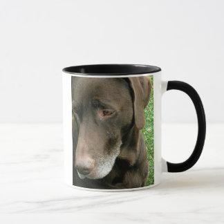 Brown-Hund Tasse