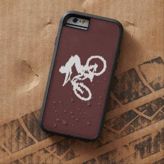 Brown und weiße schnelle Mountainbike Tough Xtreme iPhone 6 Hülle