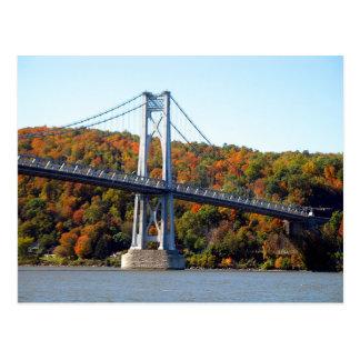 Brücken-Turm im Fall Postkarte