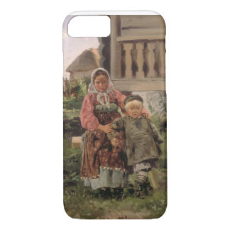 Bruder und Schwester, 1880 iPhone 8/7 Hülle