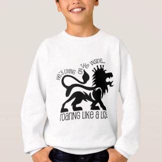 Brüllen wie ein Löwe Sweatshirt