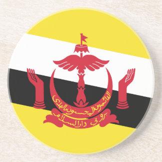 Brunei-Flagge Getränkeuntersetzer