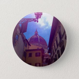 Brunelleschi Haube in Florenz, Italien Runder Button 5,1 Cm