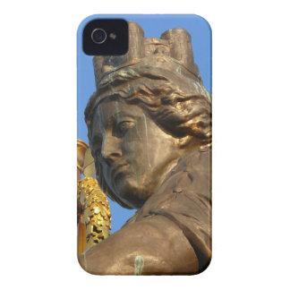 Brunonia, Teil von Quadriga auf Brunswick-Schloss iPhone 4 Case-Mate Hülle