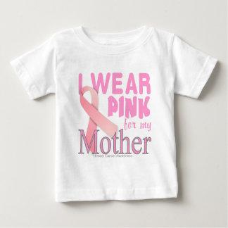 Brustkrebs Bewusstsein für Mutter Baby T-shirt