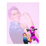 Brustkrebs-Bewusstseins-Monat, Rosie der Nietenein