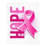 Brustkrebs der Hoffnungs-2 Custom Flyer