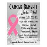 Brustkrebs-personalisierter Nutzen-Flyer