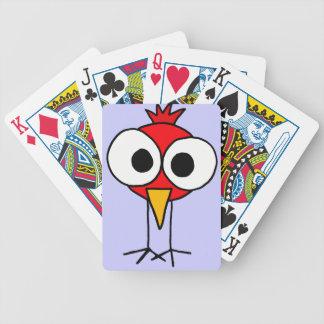 BT, lustiger Kardinals-Vogel-Spielkarten Pokerkarten