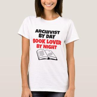 Buch-Liebhaber-Archivar T-Shirt