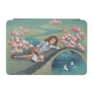 Buch-Liebhaber-Mädchen iPad Miniabdeckung iPad Mini Hülle