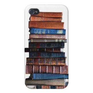 Buch-Stapel, antike Bücher iPhone 4 Hüllen