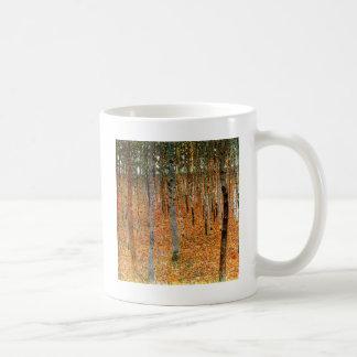 Buchen-Wald durch Gustav Klimt Kaffeetasse