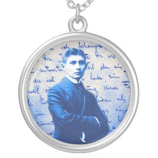 Buchstabe von Kafka Versilberte Kette