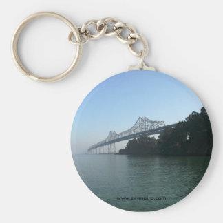 Bucht-Brücke von der Scherer-Bucht, San Francisco, Schlüsselanhänger