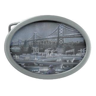 Bucht-Brücken-Gürtelschnalle Ovale Gürtelschnallen