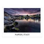 Bucht von Neapel in Italien Postkarte