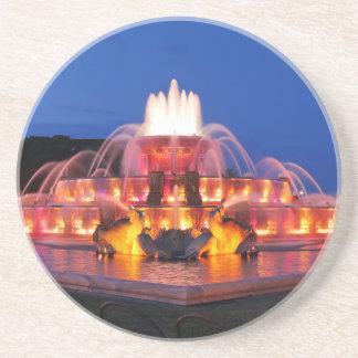 Buckingham Brunnen 02.JPG Sandstein Untersetzer