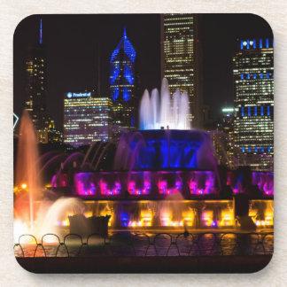 Buckingham Brunnen Chicago Getränkeuntersetzer