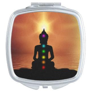 Buddhismus Schminkspiegel