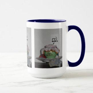 Buddhistische Schatz-Vasen-Tasse Tasse