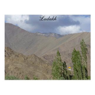 Buddhistischer Gebetsraum, Saboo, Ladakh, Indien Postkarte