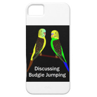 Budgies, das Budgie Springen bespricht iPhone 5 Schutzhülle