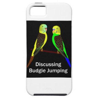 Budgies, das Budgie Springen bespricht Tough iPhone 5 Hülle