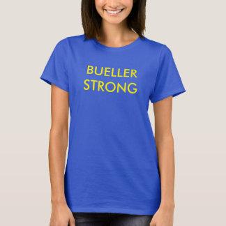 Bueller stark, das t der Frauen, Blau und Gelb T-Shirt