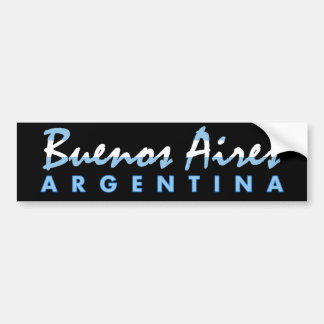 Buenos- AiresAutoaufkleber Autoaufkleber