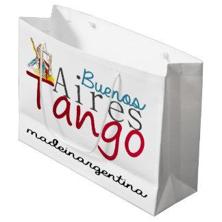 Buenos- AiresTango hergestellt in Argentinien Große Geschenktüte