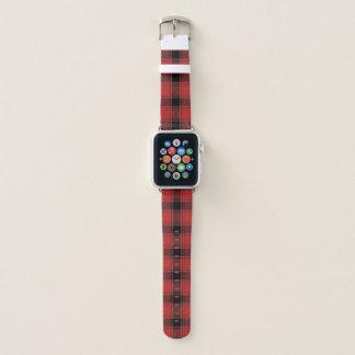 Büffel-Karo-kariertes Entwurfs-Apple-Uhrenarmband Apple Watch Armband