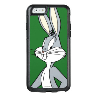 BUGS BUNNY ™ stehendes schiefwinkliges OtterBox iPhone 6/6s Hülle