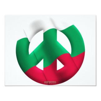 Bulgarien 10,8 X 14 Cm Einladungskarte