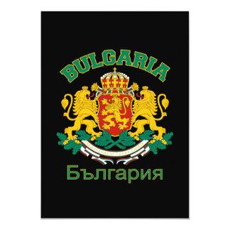 BULGARIEN-Einladung - fertigen Sie besonders an 12,7 X 17,8 Cm Einladungskarte