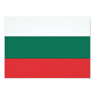 Bulgarien-Flagge 12,7 X 17,8 Cm Einladungskarte