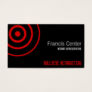 Bullaugen-Symbol Visitenkarte