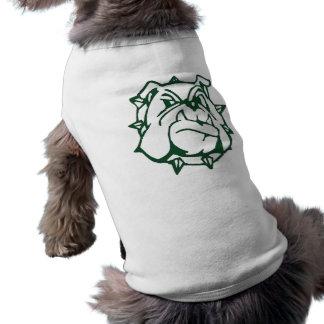Bulldoggen-Kleidung Ärmelfreies Hunde-Shirt