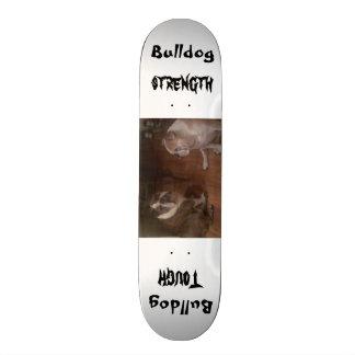 Bulldoggen-starkes Skateboard Personalisiertes Skateboard