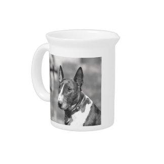 Bullterrierhund Krug
