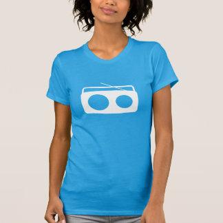 BumeBox T-Stück in Boombox (weißes Logo) T-Shirt