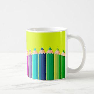 Bunte Bleistifte der Tasse
