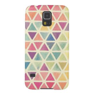 bunte Dreiecke Samsung Galaxy S5 Hülle