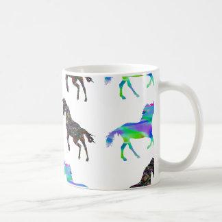 Bunte Einhörner Kaffeetasse