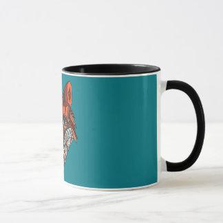 Bunte Fuchs-Tasse Tasse